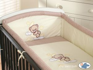 Bedding set 2-pcs- Good night brown