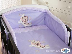 Bedding set 2-pcs- Good night lilac