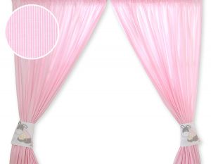Curtains for baby room- Donkey Luca pink