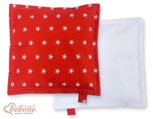 Doublesided Pillow-  Stars red
