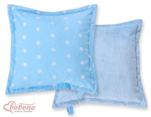Doublesided Pillow- Blue stars