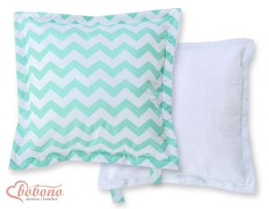 Doublesided Pillow-  Chevron mint