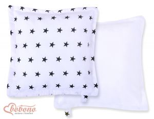 Doublesided Pillow-  Black stars