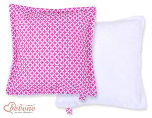 Doublesided Pillow- pink flowers