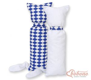 Cuddly cat double-sided-Simple Chessboard dark blue