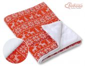 Double-sided blanket minky- Christmas pattern (Limited Edition)*