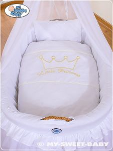 Bedding set 2-pcs for Moses Basket/Wicker crib no. 92001-300