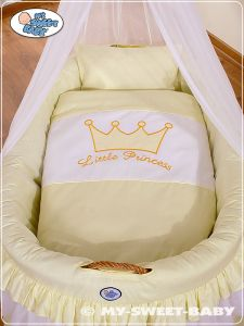 Bedding set 2-pcs for Moses Basket/Wicker crib no. 92001-301