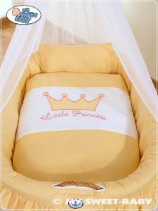 Bedding set 2-pcs for Moses Basket/Wicker crib no. 92001-303