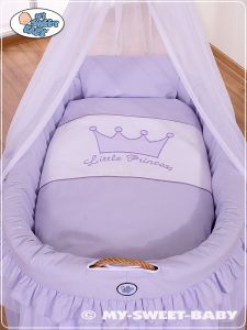 Bedding set 2-pcs for Moses Basket/Wicker crib no. 92001-304