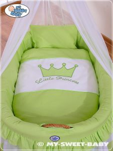 Bedding set 2-pcs for Moses Basket/Wicker crib no. 92001-306