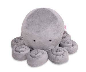 Cuddly octopus - gray