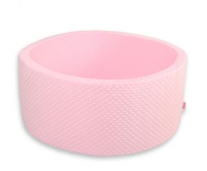 Ball-pit minky without balls - pink