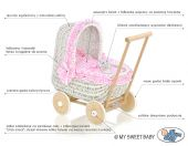 Doll pram with description