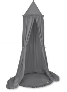 Set: Hanging canopy + Floor play mat- anthracite