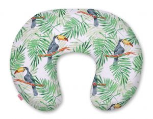 Extra cover for feeding pillow- toucans