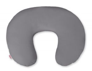 Extra cover for feeding pillow- Hearts anthracite