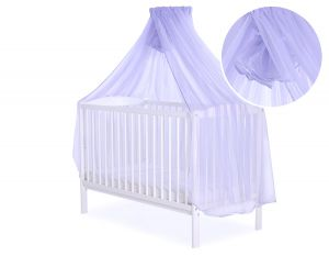 Mosquito-net made of chiffon - lilac