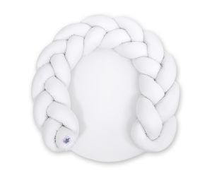 Baby donut pillow/ play mat 2 in 1 - white