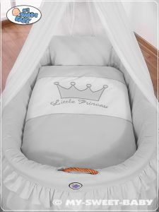 Bedding set 2-pcs for Moses Basket/Wicker crib no. 92001-309
