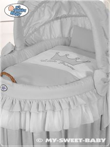 Bedding set 2-pcs for Moses Basket/Wicker crib no. 92114-309