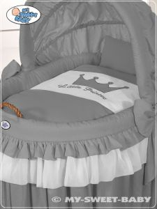 Bedding set 2-pcs for Moses Basket/Wicker crib no. 92114-310