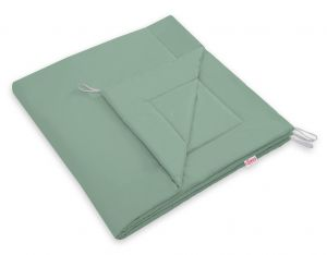 Double-sided teepee playmat- pastel green