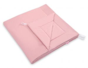 Double-sided teepee playmat- patsel pink