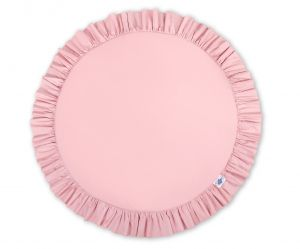 Floor play mat - pastel pink