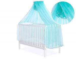 Mosquito-net made of chiffon - mint