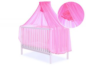 Mosquito-net made of chiffon - neon pink