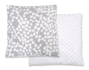 Doublesided Pillow - bubbles gray