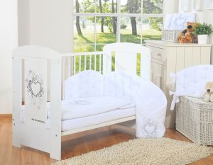 Bedding set 2-pcs- Chic white