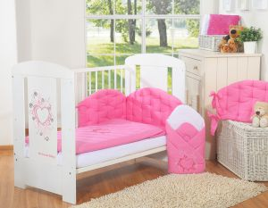 Bedding set 2-pcs- Chic dark pink