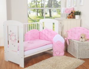 Bedding set 2-pcs- Chic pink