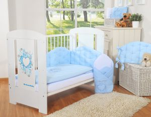 Bedding set 2-pcs- Chic light blue