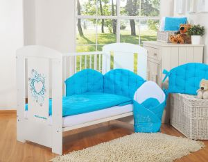 Bedding set 2-pcs- Chic turquoise