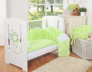 Bedding set 2-pcs- Chic green