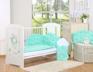 Bedding set 2-pcs- Chic mint