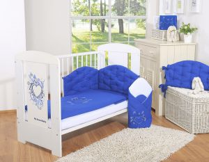 Bedding set 2-pcs- Chic navy blue