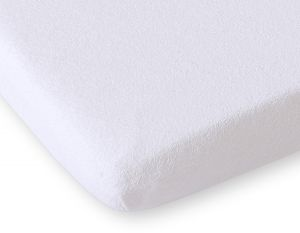 Sheet made of frotte (terry) 80x200cm- White