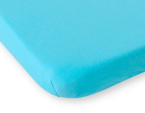 Sheet made of jersey 140x70cm-turquoise