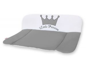 Soft changing mat- Little Prince/Princess anthracite