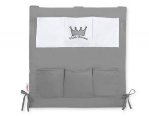 Cot tidy- Little Prince/Princess anthracite
