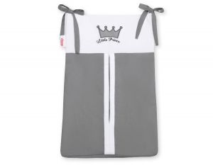 Diaper bag- Little Prince/Princess anthracite
