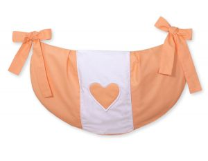 Toys bag- Hanging Hearts orange