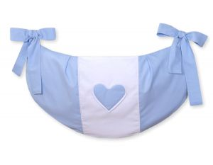 Toys bag- Hanging Hearts blue