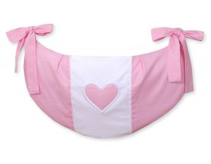 Toys bag- Hanging Hearts pink