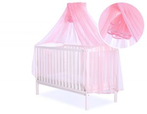 Mosquito-net made of chiffon - pink