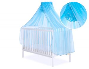 Mosquito-net made of chiffon - turquoise